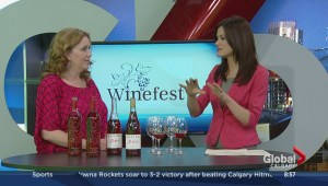 Winefest coming to Calgary; Cathy Cook, Festival Director of Winefest, and Jenn Tuff of Gold Medal Marketing